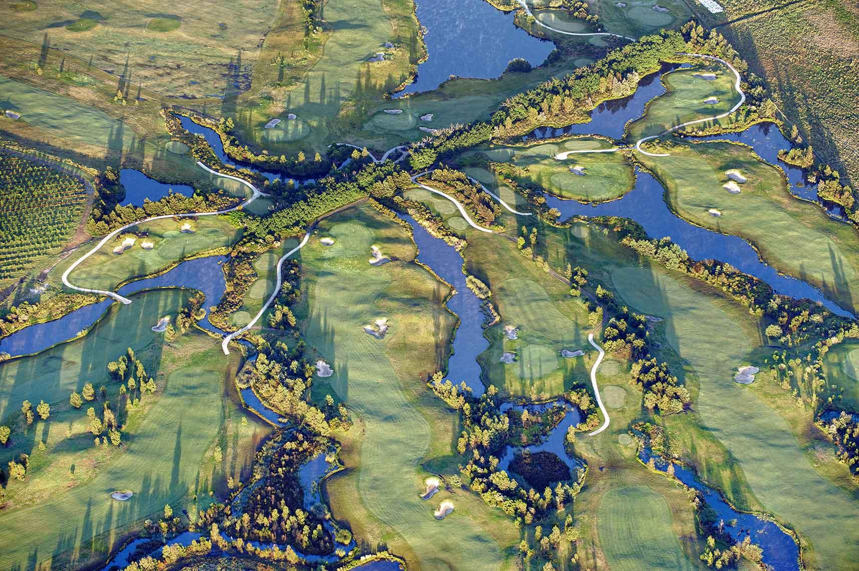 Aerial Landscape Golf